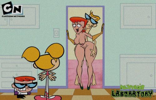 Dexter's laboratory porn Here yo see Dexter's older sister Dee dee in his lab with a dildo in ...